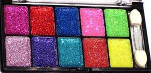 Paleta glitter