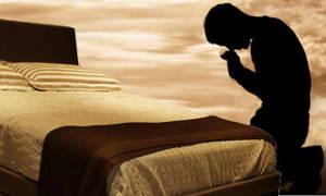 Não me interrompa, estou orando