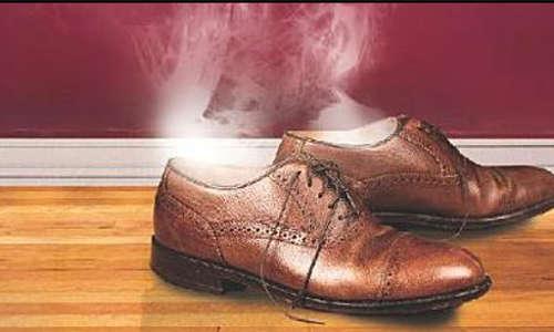 O dono do sapato sumiu