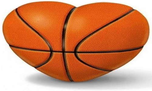 Coração basquete