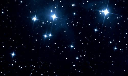 A ESTRELA HUMILDE - Céu estrelado
