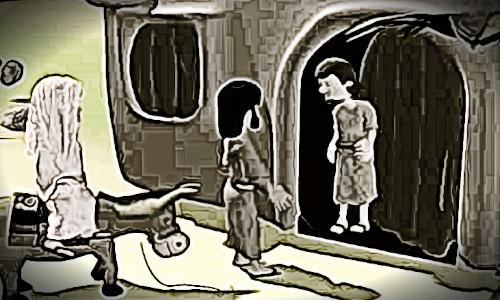 José com Maria procurando local pra passar a noite - NATAL PASSADO