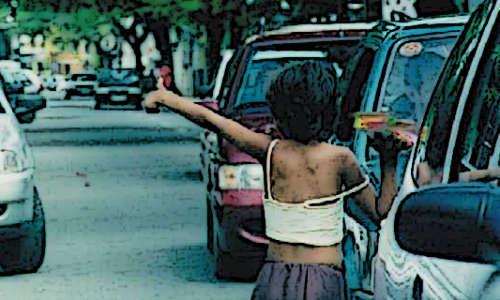 A crueldade a que são submetidas as crianças