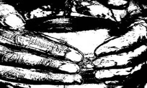 Mãos do oleiro moldando...