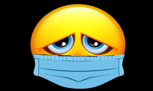 Emoji, triste com máscara - VOCÊ FARIA O MESMO? - Teatro Cristão