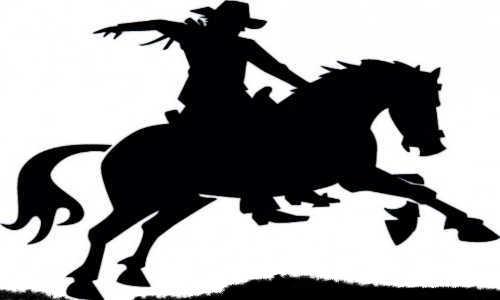 Peão sobre o cavalo