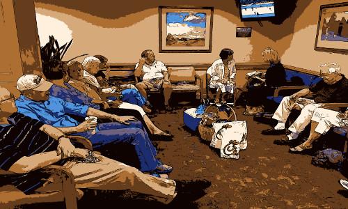 Sala de espera - ONDE VOCÊ SE ENCONTRARÁ NO FIM DOS DIAS?