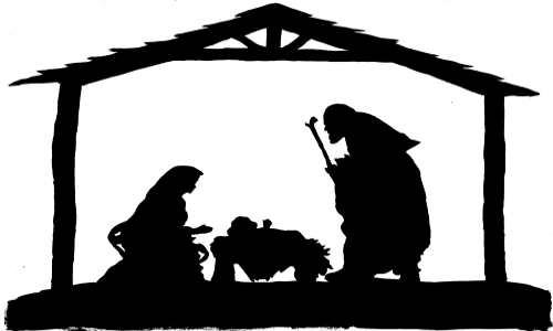 Estábulo, Jesus, Maria e José
