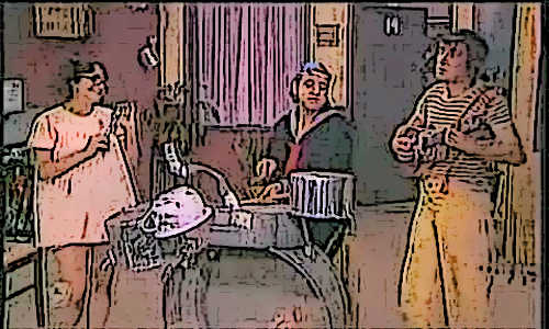 Chiquinha, Quico e Chaves em A BANDINHA DO BARULHO DO CHAVES - Teatro Cristão