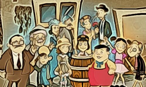 Turma do CHAVES - FESTIVAL DA ADORAÇÃO DA VILA