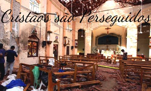 A IGREJA CLANDESTINA - Teatro Cristão - Igreja que sofreu atentado