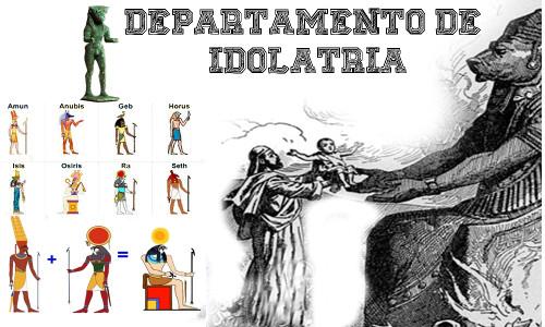 """DEPARTAMENTO DE IDOLATRIA - vários """"deuses"""" antigos"""
