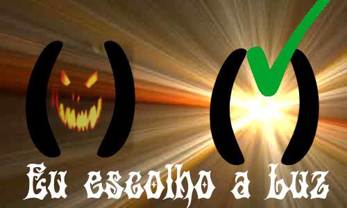 EU ESCOLHO A LUZ - Teatro para Halloween