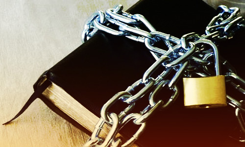 Bíblia acorrentada