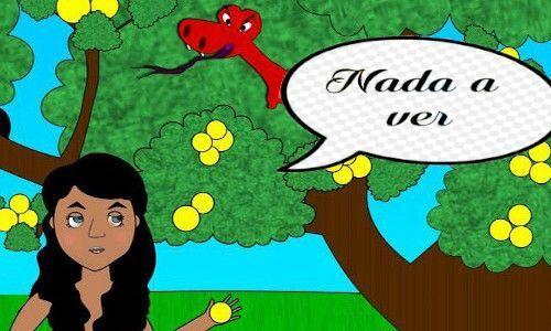 Eva e a serpente - NADA A VER