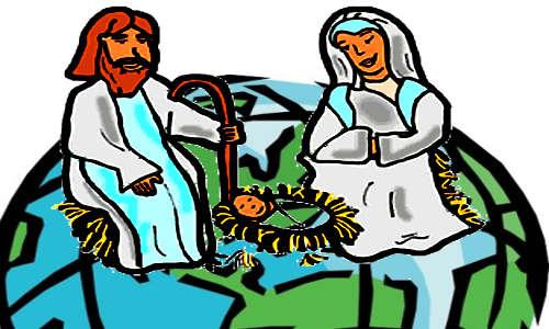 Planeta mais José, Maria e Jesus