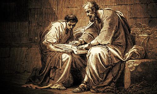 ONÉSIMO e FILEMOM, Paulo escreve para Filemom, enquanto está preso