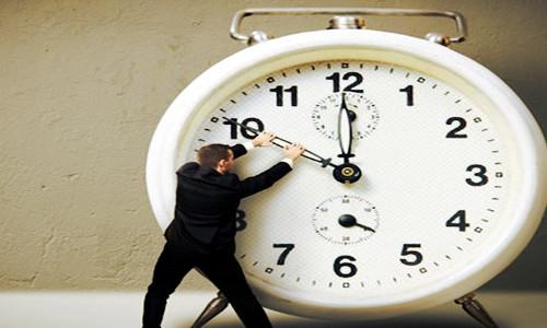Tentativa de parar o relógio
