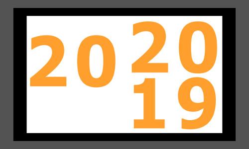 ANO NOVO – VIDA NOVA - 2019/2020